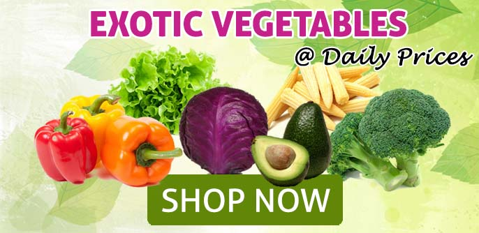 Exotic Vegetables at JustShop24