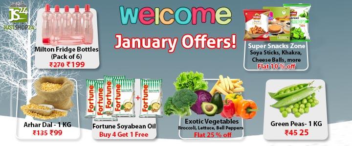 WELCOME JANUARY OFFERS
