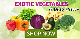Exotic Vegetables at JustShop24